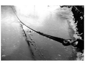 Mooring Line on Ice