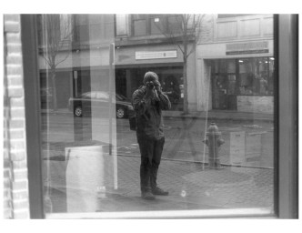 Self Portrait in Shop Window